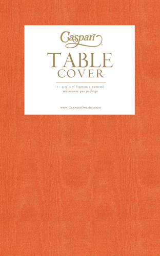 Deep Orange Table Cover
