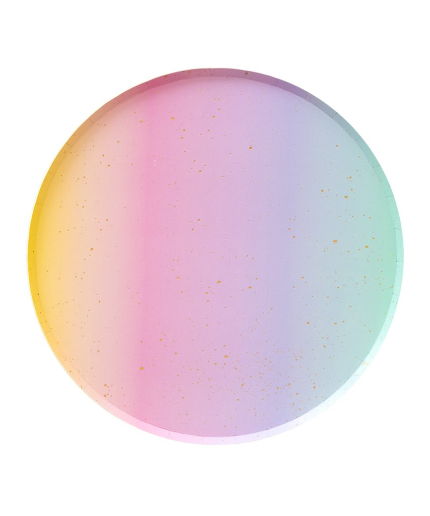 Ombre Plate Large