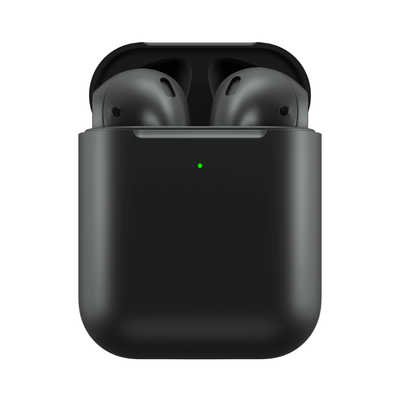 BlackPods 2 matte black wireless in-ear bluetooth earbuds