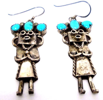 What do you call those Little Silver People - Yeis? Kachinas?