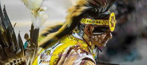 Arland Ben Navajo Silversmith Photography Pow Wow Dancer 2015 Gathering of Nations