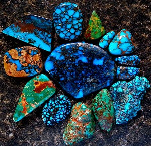 Amazing colors are found in Turquoise Jewelry