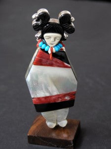 Olla Maiden Inlay Pendant by GB