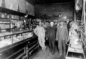 Old photo of Tobe Turpen's trading post