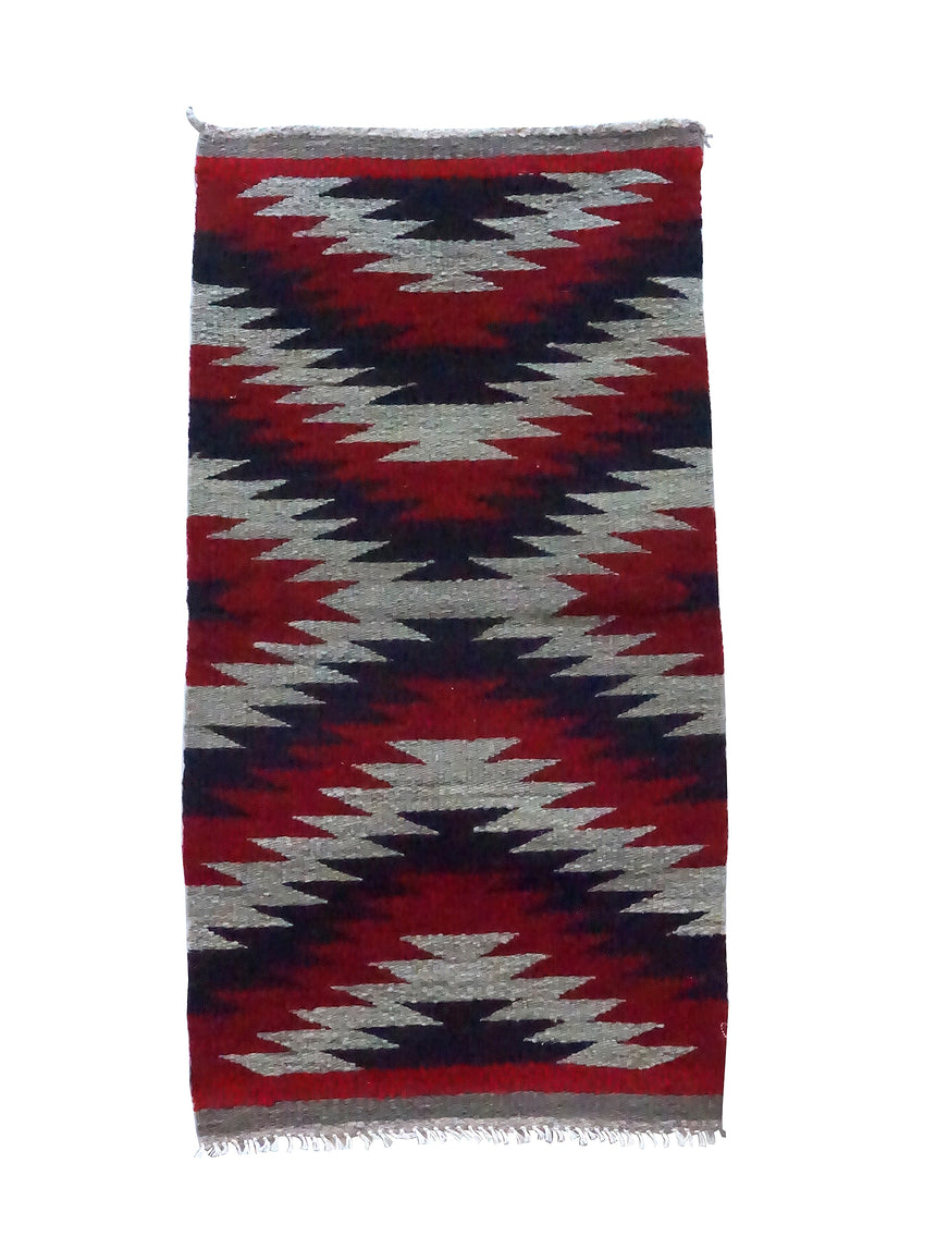 Celena Daniels, Gallup Throw Rug, Wool Cotton, Navajo Made, 40