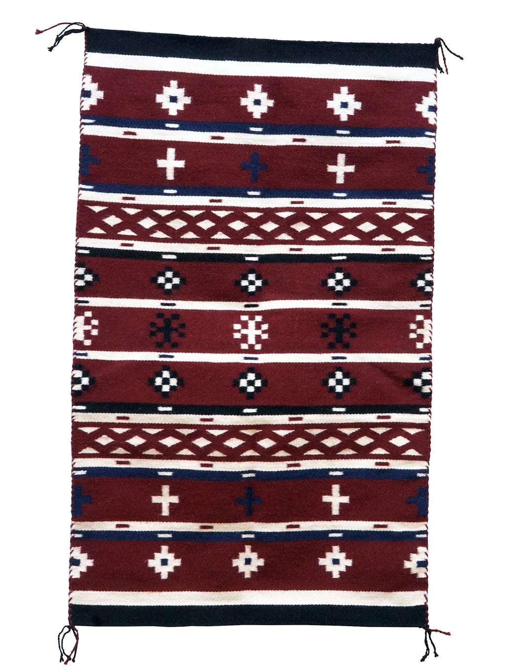 Bessie Yazzie, Chief Blanket, Contemporary, Navajo Handwoven, 44