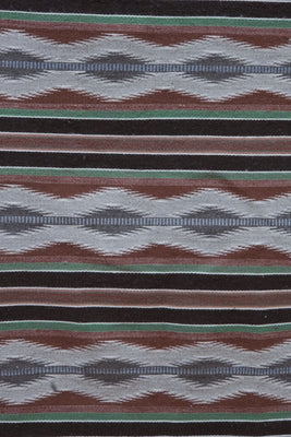 "Load image into Gallery viewer, Melvina Francis, Pine Springs Design, Navajo Handwoven, 51"" x 34"""