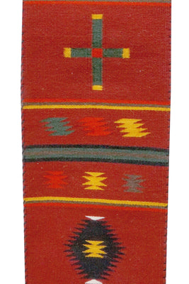 "Load image into Gallery viewer, Millie White, Chief Runner, German Town, Navajo Handwoven, 91"" x 11"""
