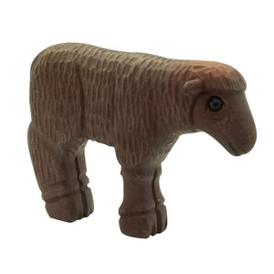 "Lee Bedonie, Fetish, Sheep, Pipestone , Navajo Handmade, 2 1/4"" x 1 5/8"""