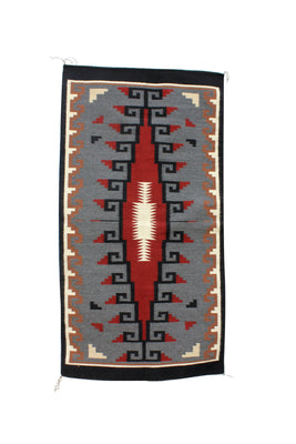 "Load image into Gallery viewer, Angela Williams, Klagetoh, Rug, Navajo, Handwoven, 33"" x 62"""