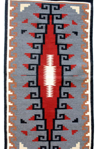 "Angela Williams, Klagetoh, Rug, Navajo, Handwoven, 33"" x 62"""