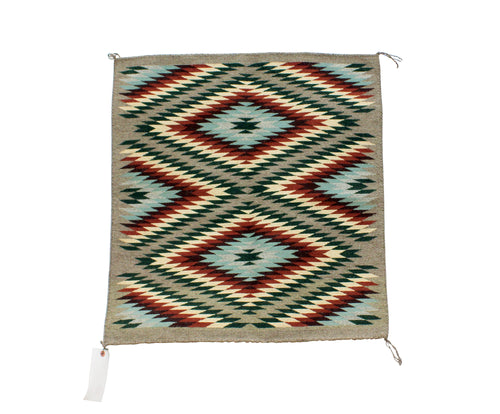 Betty Nez, Wide Ruins Rug, Navajo, Handwoven, 27