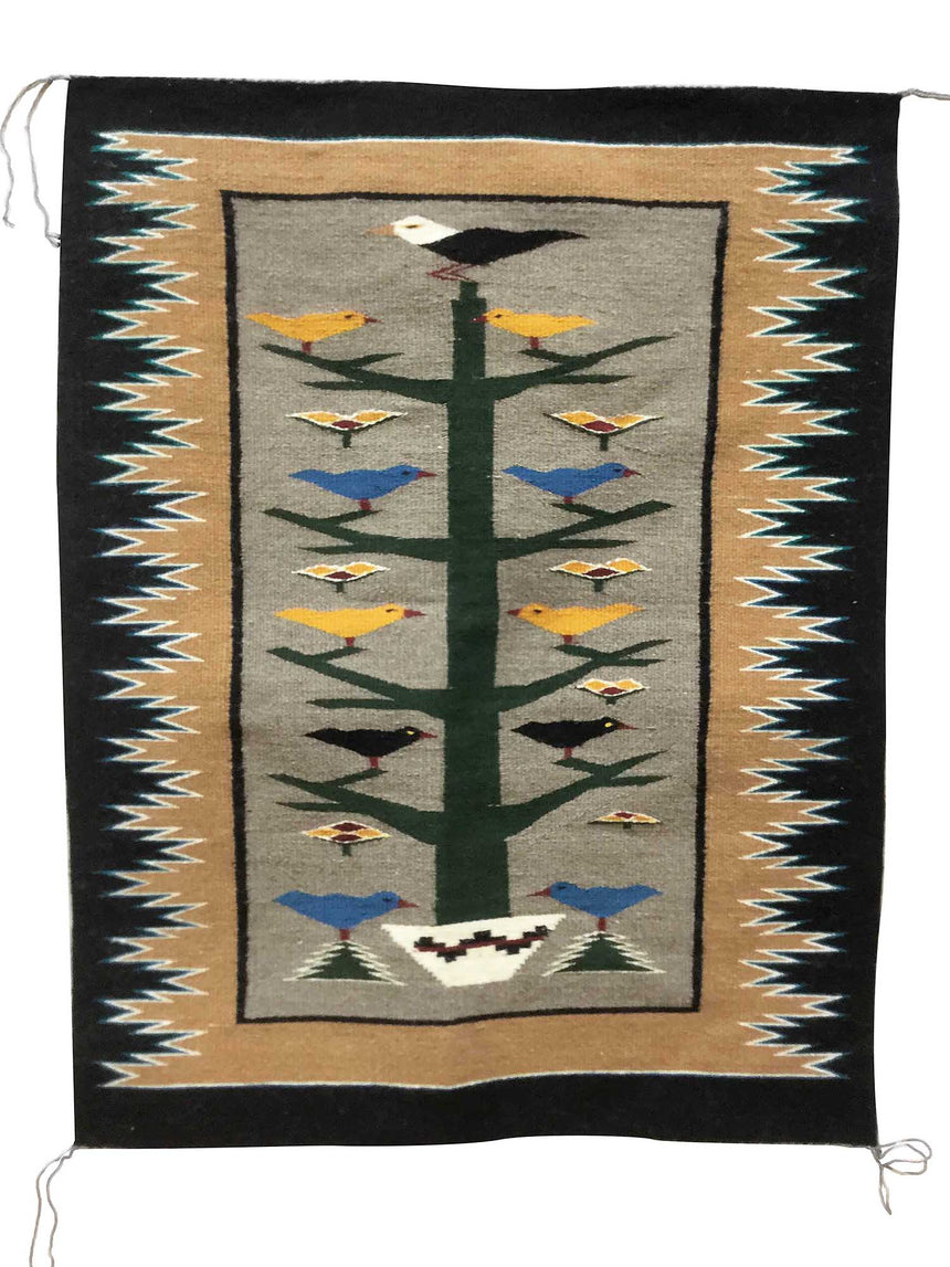 Anna Gray, Tree of Life, Navajo Handwoven Rug, 47