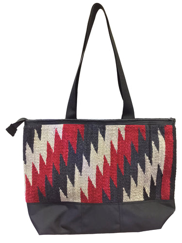 20.Elmer Thompson, Handbag, GallupThrow Rug, Zipper, Navajo, Approx. 19x13