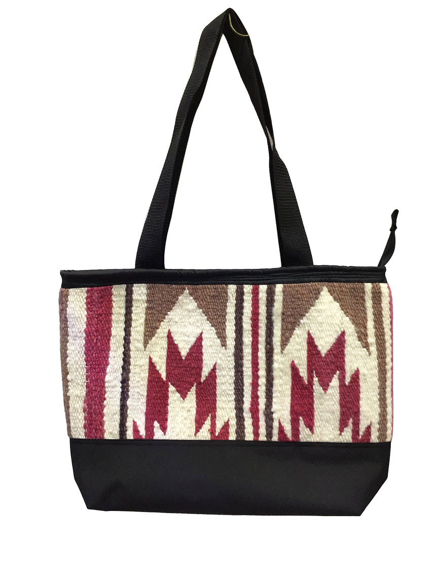 6.Elmer Thompson, Handbag, Gallup Throw Rug, Zipper, Navajo, Approx. 19x13