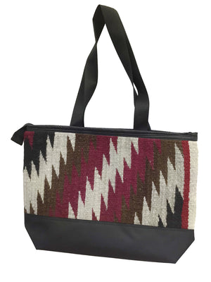 Load image into Gallery viewer, 10.Elmer Thompson, Handbag, Gallup Throw Rug, Zipper, Navajo, Approx. 19x13
