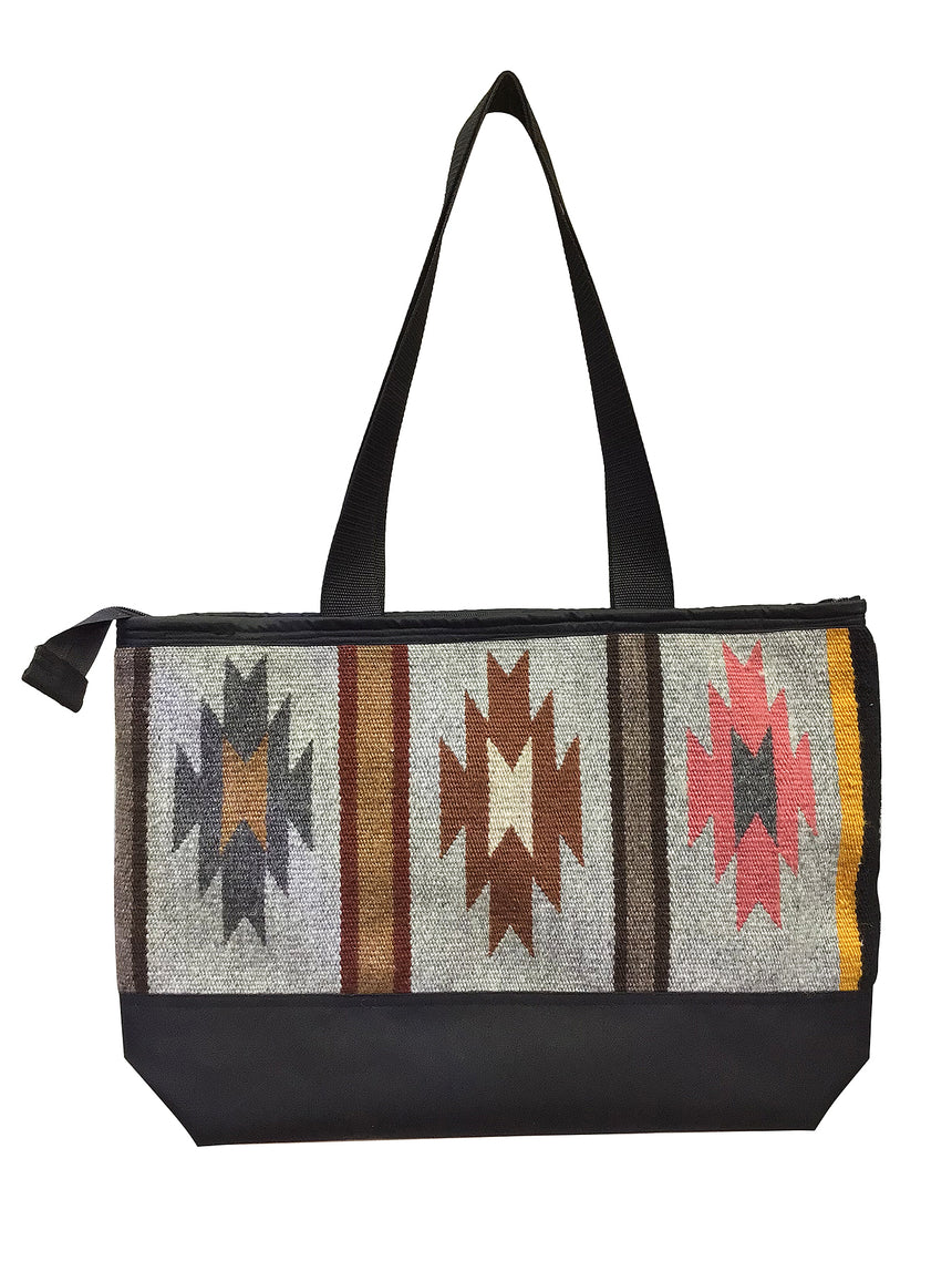 13.Elmer Thompson, Handbag, GallupThrow Rug, Zipper, Navajo, Approx. 19x13