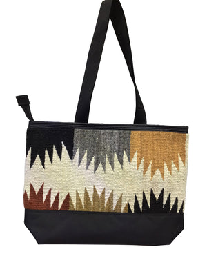 Load image into Gallery viewer, 15.Elmer Thompson, Handbag, Gallup Throw Rug, Zipper, Navajo, Approx. 19x13