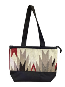 22.Elmer Thompson, Handbag, GallupThrow Rug, Zipper, Navajo, Approx. 19x13