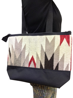 Load image into Gallery viewer, 22.Elmer Thompson, Handbag, GallupThrow Rug, Zipper, Navajo, Approx. 19x13