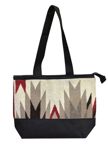 23.Elmer Thompson, Handbag, GallupThrow Rug, Zipper, Navajo, Approx. 19x13