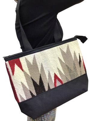 Load image into Gallery viewer, 23.Elmer Thompson, Handbag, GallupThrow Rug, Zipper, Navajo, Approx. 19x13