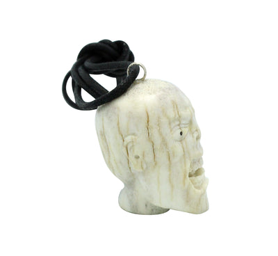 Load image into Gallery viewer, Esteban Najera, Man, Deer Antler, Fetish, Zuni Handmade, 1.5""