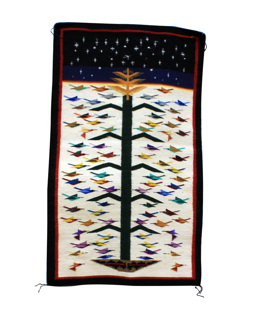 Sally Nez, Tree of Life, Rug, Navajo, Handwoven, 27
