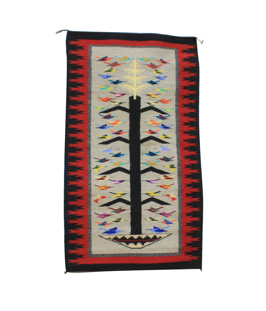 Kathy Bia, Tree Of Life, Rug, Navajo, Handwoven, 23.5