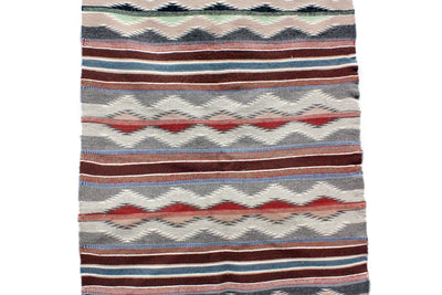 "Load image into Gallery viewer, Marilynn Francis, Wide Ruins Rug, Navajo Handwoven, 31"" x 43"""