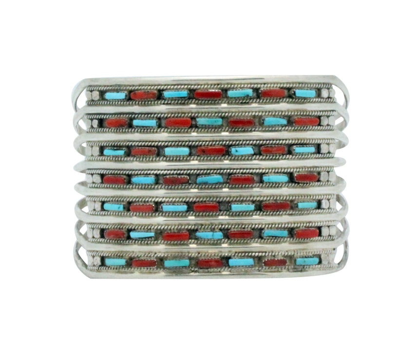 Connie Hattie, Bracelet, Sleeping Beauty Turquoise, Mediterranean Coral,  6 1/4