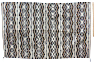 "Load image into Gallery viewer, Donald Woods, Eye Dazzler Rug, Navajo Handwoven, 94"" x 59.5"""