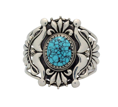 Load image into Gallery viewer, Stacey Gishal, Bracelet, Ketoh Design, Egyptian Turquoise, Navajo Handmade, 6 3/4