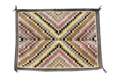 Load image into Gallery viewer, Sadie Charley, Burntwater Rug, Navajo Handwoven, 26 in x 36 in
