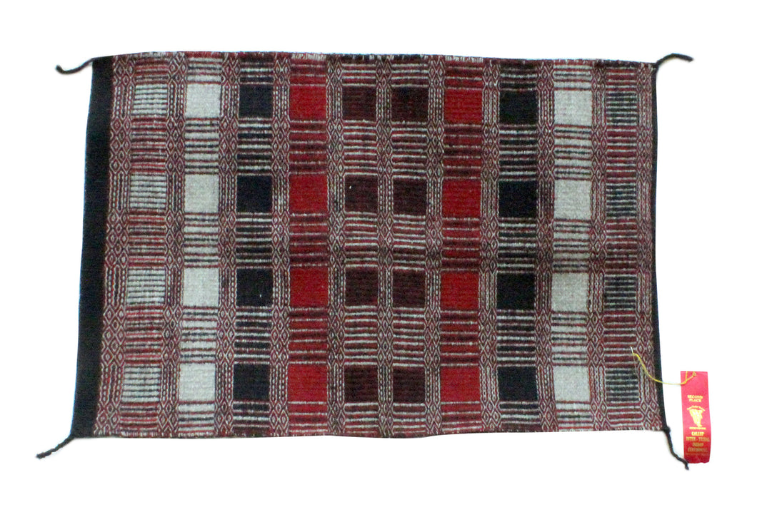 Virginia Snyder, Two faced Saddle Blanket, Intertribal Ceremonial 2nd Place
