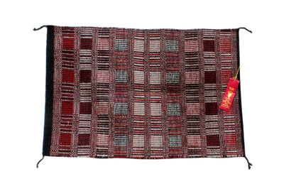 Load image into Gallery viewer, Virginia Snyder, Two faced Saddle Blanket, Intertribal Ceremonial 2nd Place