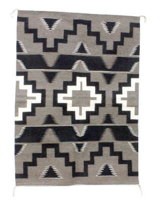 Load image into Gallery viewer, Donald Yazzie, Navajo Chief Blanket, Hand Woven, 53'' x 38''