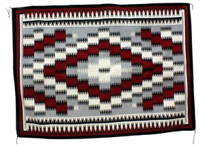 "Theresa Begay, Eye Dazzler Rug, Navajo Handwoven, 59"" x 83"""