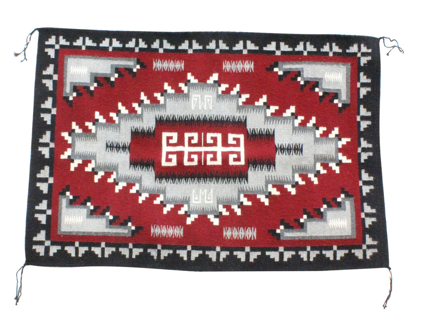 Alberta Shorty, Ganado Red Rug, Navajo Handwoven, 34