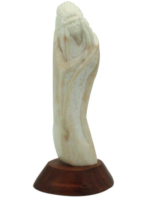 Load image into Gallery viewer, Richard Sedillo, Chief, Utah Alabaster, Cedar, Zuni, Made, 6.25""