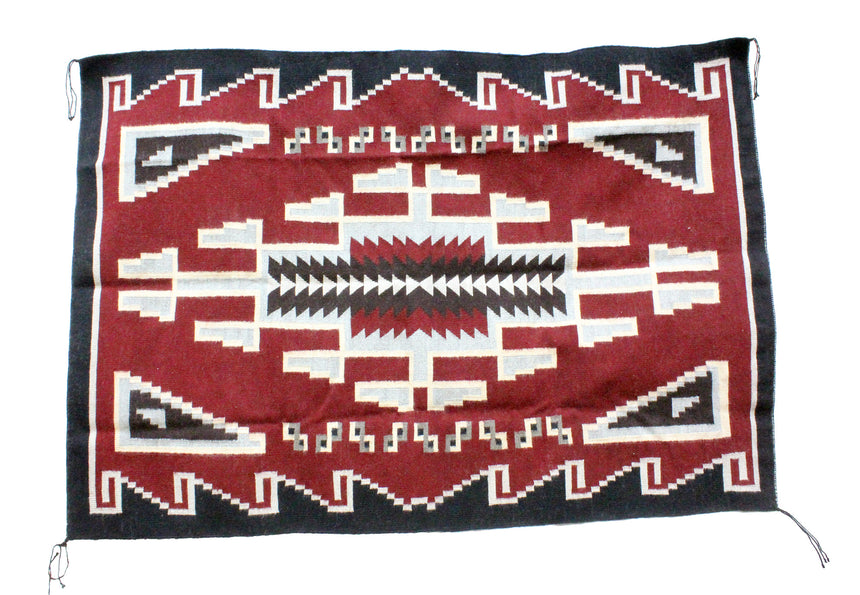 Donald Yazzie, Navajo Chief Blanket, Hand Woven, 48
