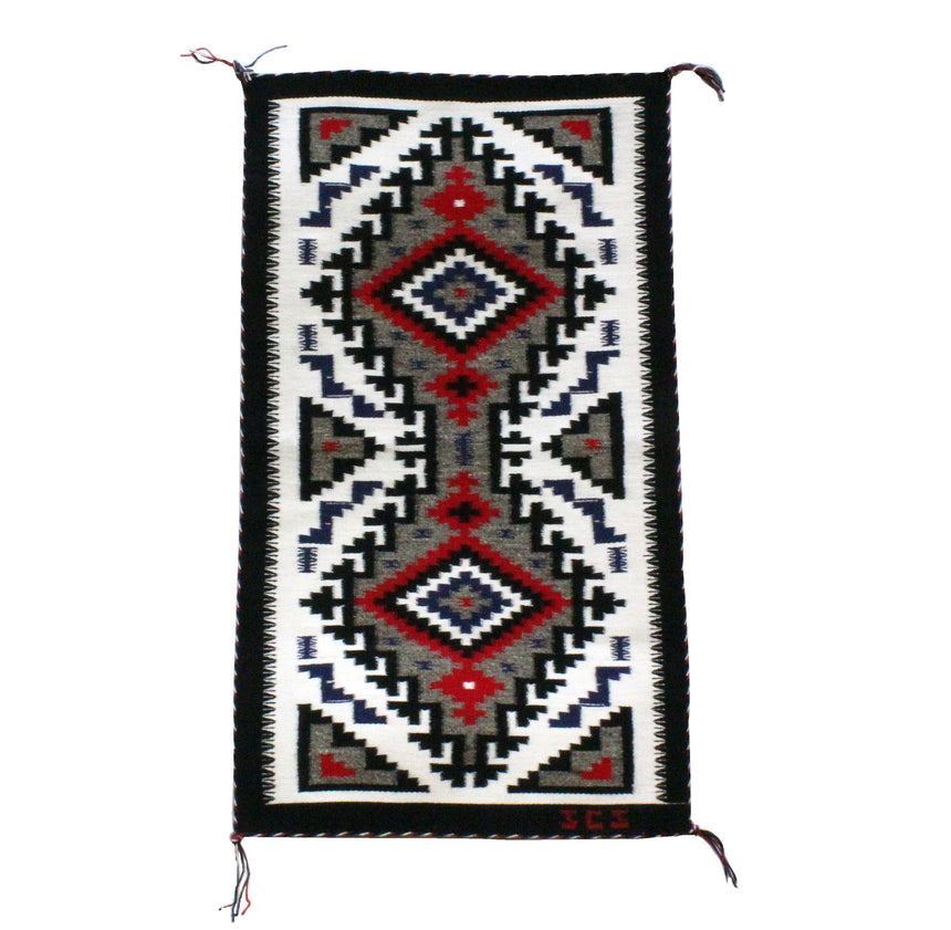 Justin Smith, Ganado Pattern, Navajo Handwoven Rug, 19