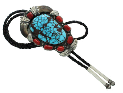 Load image into Gallery viewer, Freddie Maloney, Large, Egyptian Turquoise, Navajo Handmade, Bolo