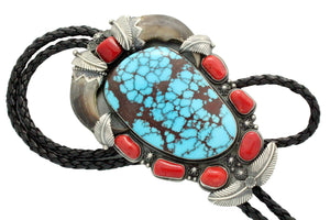 Freddie Maloney, Bear Claw, Large, Egyptian Turquoise, Navajo Handmade,