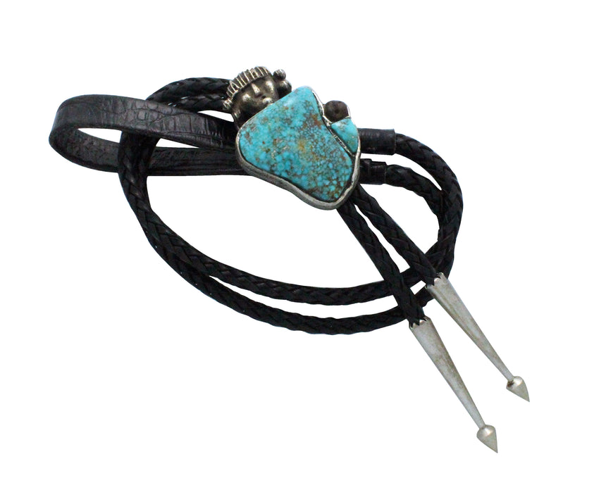 Philander Begay, Bolo, Hopi Maiden, Child, Turquoise Mountain, Navajo Made,