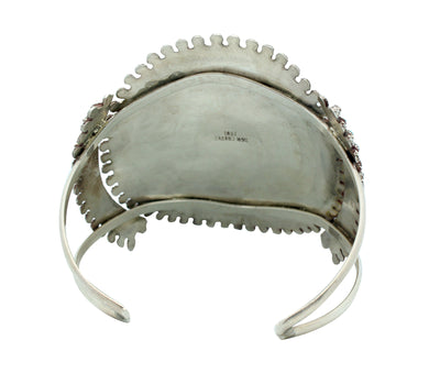 Load image into Gallery viewer, Merlinda Chavez, Bracelet, Sleeping Beauty Turquoise, Silver, Zuni Handmade, 7.25