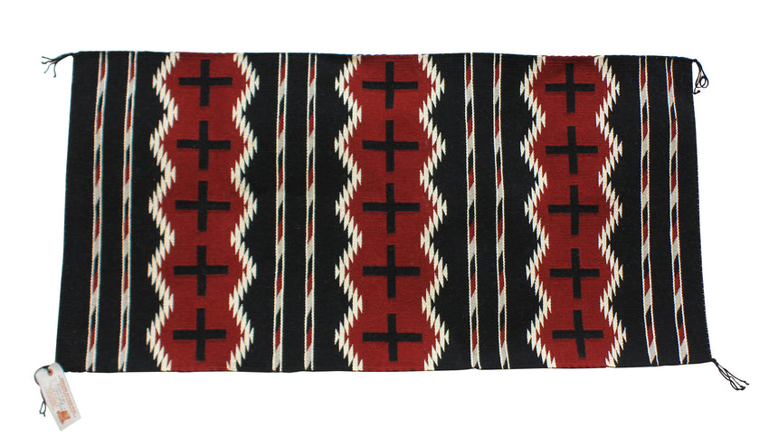 Bernice Largo, Chief Rug, Navajo, Handwoven, 48