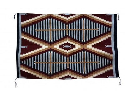 Load image into Gallery viewer, Donald Yazzie, Navajo Chief Blanket, Hand Woven, 45'' x 70''