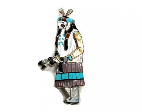 Andrea Lonjose, Kachina Collection, Female Apache Dancer