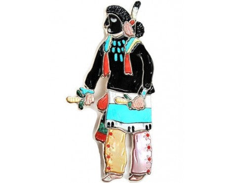 Andrea Lonjose, Kachina Collection, Zuni Ya'ana Kachina